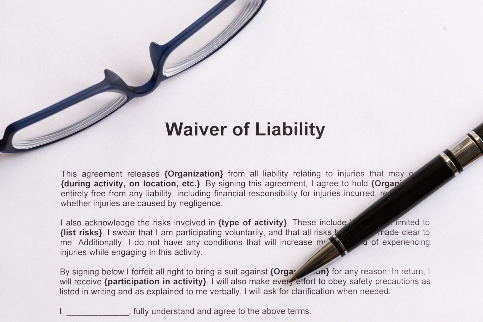 COVID Liability Waivers: Shifting the Blame